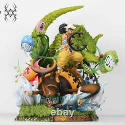 Usopp Model Grass Wolf Painted GK Figure Original One Piece Statue 56cm In Stock