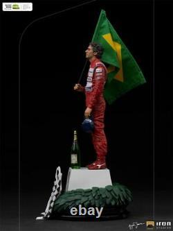 110 Iron Studios Asenna39420-10 Ayrton Senna Statue Figure Model Doll Jouet