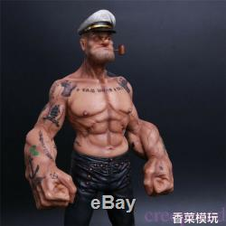12 Headplay Popeye 1/6 Figure Sailor Statue Résine Modèle Body Tattoo