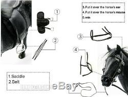 16 M. Échelle Z Animal Résine Jouet Simulation Hanoveria Cheval Figure 5 Modèle Couleur