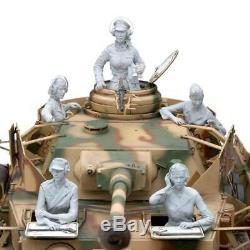1/16 Figure Résine Modèle Kit Soldats Allemands Équipage Féminin Réservoir Seconde Guerre Mondiale Sans Réservoir Dédouleur
