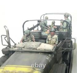1/35 11pcs Résine Figurine Modèle Kit Us Soldats Guerre Du Vietnam (pas De Voiture) Non Peint