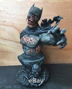 1/3 Batman Version Zombie Buste Figure Modèle Unpainted Unassembled Résine Kit 50cm