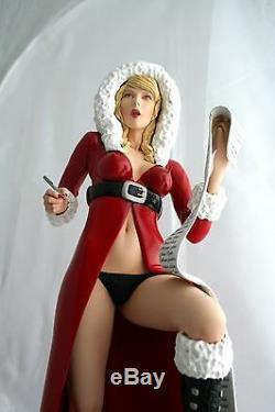 1/3 Modèle Résine Kit, Figurine Sexy Noelle, Fille Du Père Noël