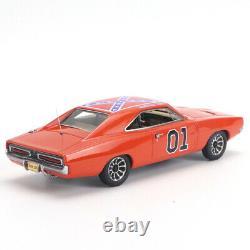 1/43 Modèle Hrn 1969 Dodge Charger Général Lee Resin Modèle Replique Avec Les Figures