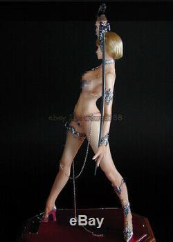 1/4 30cm De Haut Q Figure Modèle Swordsuver Gk Sexy Girl Garage Kit Unpainted Résine