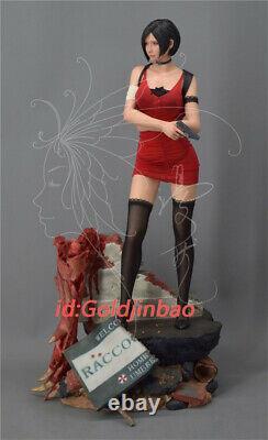 1/4 Échelle Ada Wong Résine Figure Biohazard Resident Evil 2 Modèle Peint Statue