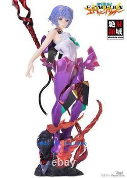 1/4 Eva Ayanami Rei Unpainted Résine Figure Modèle Kits Anime Garage Kit En Stock