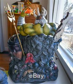 1/4 Hulk Sur Statue Trône Résine Modèle Gk Kits Collections Figure Cadeaux Pré-commande