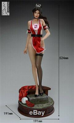 1/4 Mai Shiranui Statue Résine Figure Modèle Le Roi Des Combattants Painted Nouveau