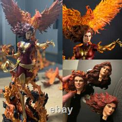 1/4 Résine Dark Phoenix X Men Jean Grey-summers Statue Model Figure Jouet