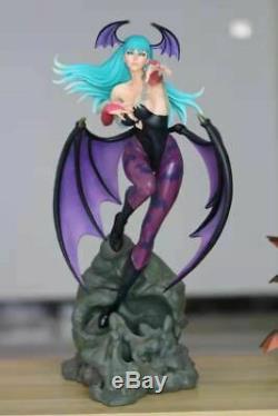 1/4 Vampire Morrigan Aensland Darkstalkers Statue Résine Modèle Gk Figure En Stock