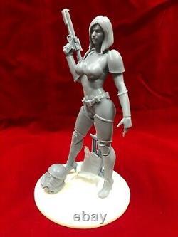 1/6 Échelle Star Wars Sexy Stormtrooper Fille Fan Art / Résine Figure / Modèle Kit