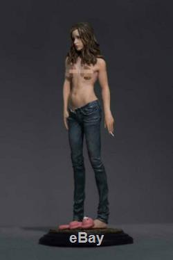 1/6 Jeans Échelle Fille Modèle En Résine Gk Peint Statue Décoration Figure En Stock