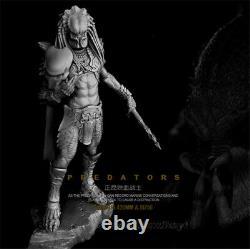 1/6 Kits De Modèle De Résine Predator Figurine Non Peinte Non Assemblée 42cm