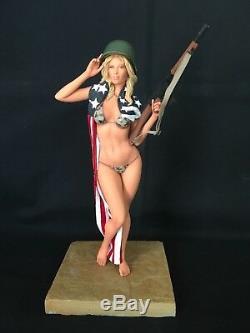 1/6 Modèle En Résine Kit, Figurine Sexy American Dream