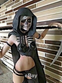 1/6 Modèle En Résine Kit, Figurine Sexy Grim Reaper