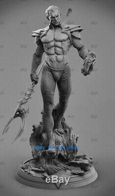 1/6 Phoenix Force De Guerrier Figure Statue Modèle En Résine Kits Unpainted Impression 3d