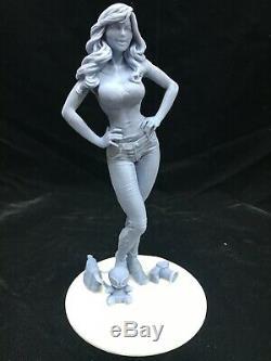1/6 Spiderman Échelle -mary Jane Watson (12) / Fan Art / Résine Figure / Modèle Kit