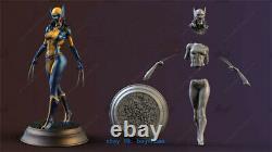 1/8 H25cm Femme Wolverine X-23 Figure Résine Modèle Kits Unpainted Impression 3d