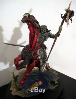 1/8 Predator Riding Alien Modèle Cheval Figure Unpainted Unassembled Résine Kit 14