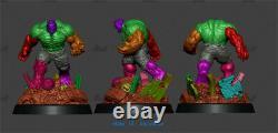 30cm Hulk Resin Model Kits Unpainted 3d Printing Garage Kit Green Gaint Figure