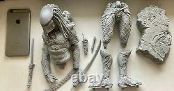 340mm Figure Model Résine Warrior Rider Monster Kit Gk Non Peint