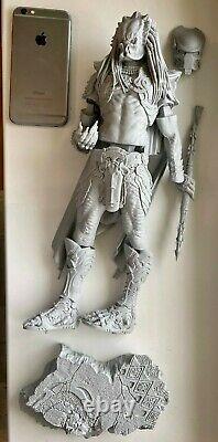 340mm Warrior Rider Monster Monster Figure Model Kit De Résine Gk Non Peint