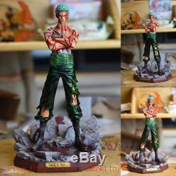 3pcs Modèle Palais One Piece Zoro Roronoa Luffy Sanji Gk Figure Modèle Pop Statue