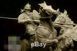 75mm 24.01 Résine Soldat Figure Kit De Modèle À Deux Chevaliers En Duel G1