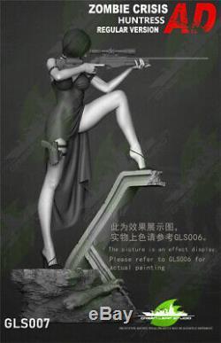 Ada Wong Statue Résine Figure Modèle Gk Leaf Green Studio Painted 1/4 Prévente
