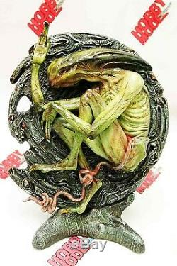 Affichage Alien Deacon Rebirth Diorama H. r. Giger Unpainted Figure Résine Modèle Kit