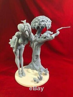 Alice Et Le Chat / Résine Figure / Modèle Kit-1/8 De L'échelle