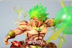 Anime Dragon Ball Z Super Saiyan Broly Broli Figure Statue Résine Modèle Figurines