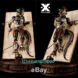 B-six Dragon Ball Mécanique Freezer Statue Peinte Modèle Led Lumière Résine Figure