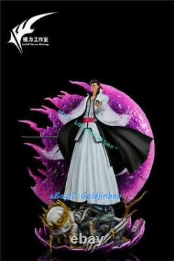 Bleach Aizen Sousuke Resin Figure Model Painted Statue Pré-commande Ws-studio Led