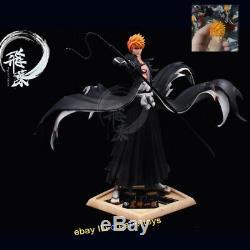 Bleach Flyleaf Kurosaki Ichigo Résine Figure Gk Statue Modèle Kits Studio En Stock