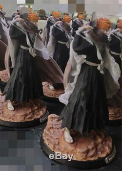 Bleach Ichigo Kurosaki Résine Figure Gk Statue Modèle Kits Manqi Nouveau Studio