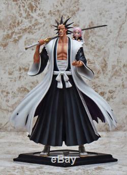 Bleach Kenpachi Zaraki Résine Figurine Figure Modèle Foc Même Style Anime En Stock