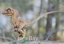 Bleu Velociraptor Bébé 1/1 Dinosaur Limitée Figure Raptor Modèle Collector Cadeau