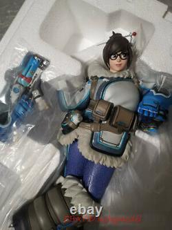Blizzard Overwatch Ow Meiling Zhou Mei 28cm Statue Model Figures In Stock New