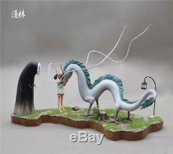 Chihiro Ogino Chihiro No Face Homme Dragon Statue Résine Figure Modèle Gk Nouveau