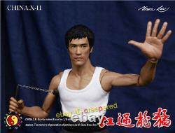 Chine. X-h Bruce Lee Way Du Dragon 16 Modèle Figure Limitée 99 Jouets Collectionnez