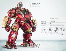 Comicave Alliage Hulkbuster Armure Iron Man Mk44 Mech Modèle 1/12 D'action Figure Jouets