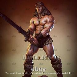 Conan Warrior Non Peint 1/6 Résine Figure 3d Print Model Kit Unassembled Gk H32cm