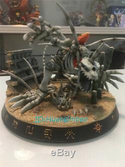 Crâne Monstre Numérique Greymon Figure Résine Modèle Painted Statue En Stock Anime