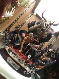 DM Studio Naruto Akatsuki Hidan Modèle En Résine Statue Gk Avec Lumière Led Mort Figure