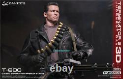 Damtoys 1/4ème Échelle Terminator 2judgment Day T-800 Figurine Statue Modèle 22.25