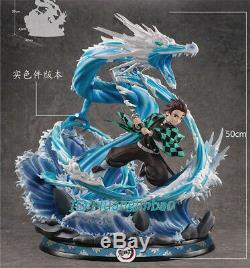 Démon Slayer Kamado Tanjirou Figure Résine Modèle Painted Anime Précommandez 50cmh Gk