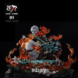 Demon Slayer Kamado Tanjirou Vs Ru Statue Painted Figure Model Pré-commande 1/6 Gk